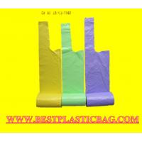 Wholesale Cheap OEM HDPE LDPE LLDPE Plastic Vest T-Shirt Bag from china suppliers