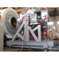 Wholesale 710-1200mm single layer/multy-layer PE pipe extrusion line from china suppliers