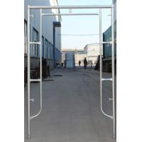Buy cheap Factory Supplying Q235 Pre-Galvanized Door Type of Frame Scaffold for Building Project from wholesalers