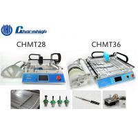 Wholesale Small Desktop CHMT28 / CHMT36 SMT LED Pick And Place Machine With Laser Positioning from china suppliers