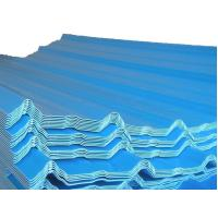 Wholesale Color Coated Steel Sheets / Tile, Waved Type Corrugated Roofing Sheet / Plate JIS3302 from china suppliers
