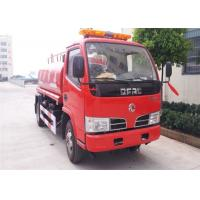 Wholesale 4x2 4000 Litres Water Tanker Fire Truck 2 Axles For Fire Fighting / Emergency Rescue from china suppliers