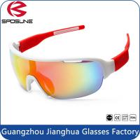 Wholesale Adult Outdoor Half Frame PC Safety Sports Sunglasses Brands For Men / Madam from china suppliers