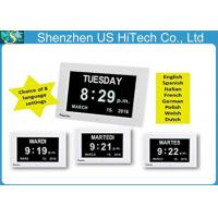 Wholesale Extra Large Impaired Vision Memory Loss Clock With Battery Backup from china suppliers