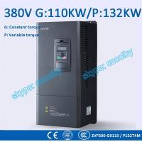 Wholesale 110kw 132kw motor pump 50Hz/60Hz AC drive CNC Variable-Frequency Drive VFD AC-DC-AC Low Voltage frequency converter from china suppliers