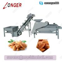 Wholesale Almond Hulling Shelling Machine|Almond Processing Equipment|Almond Shelling, Grading Machine from china suppliers