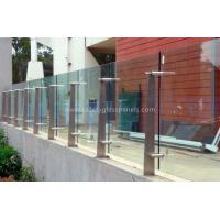 Wholesale High Strength Security Toughened Glass Balustrades And Handrails from china suppliers
