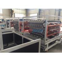 Wholesale Plastic PVC Tile Twin Extruder Machine / Plastic Extruding Equipment 400kgh from china suppliers