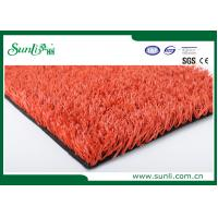 Wholesale Red PE Artificial Sports Turf Athletic Track And Path CE SGS ISA REACH from china suppliers