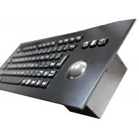 Wholesale 82 Keys Industrial Metal Mechanical Keyboard With 800 DPI Optical Trackball from china suppliers