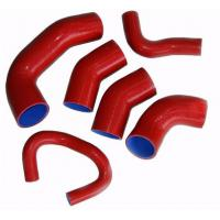 Wholesale Red Large Diameter Silicone Tubing , Silicone Radiator Hose Long Life Time from china suppliers