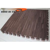 Wholesale Non-toxic Soft Wood Grain floor Tiles Wood grain design foam floor replaced for wood floor from china suppliers