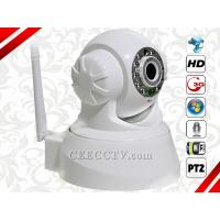 "Wholesale 1/4"" Color CMOS Sensor Wireless PTZ IR Two Way Talk P2P IP Camera (White) CEE-IP-46W from china suppliers"
