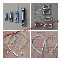 Wholesale Double-head, single strand Cable grip,Cable socks,Pulling grip,Support grip from china suppliers