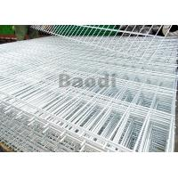 China Electric Galvanized Welded Steel Mesh PanelsWires Resist Movement With Square Pattern on sale