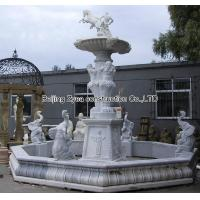 Wholesale Large white marble fountain from china suppliers