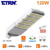 Wholesale ETRN Brand CREE LED Meanwell Power Supply 120W LED Streetlights Garden Road Square Parking from china suppliers