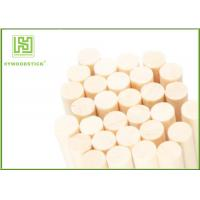 Wholesale Food Grade Drink Stir Sticks , Round Wooden Sticks For Crafts Well Polished from china suppliers