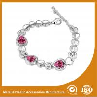 Wholesale Gold Plated / Silver Plated Zirconia Jewellery Bracelets For Lover Gift from china suppliers