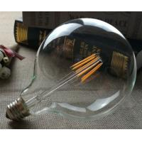 Wholesale G125 Cool Filament Light Bulbs , High Wattage Led Light Bulbs 6W from china suppliers