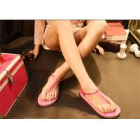 Wholesale Pink Brown Fashion Flip Flops Fashion Espadrille Style Shoes Open Toe from china suppliers