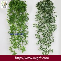 Wholesale UVG 90cm long artificial grape vines fake ivy with plastic leaf garland for garden ornament BHP01 from china suppliers
