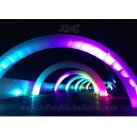 Wholesale 8m Advertising Inflatable Arch LED Air Arch Attractive For Event Decoration from china suppliers