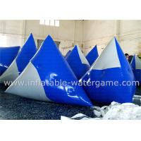 Wholesale Customized Blue Inflatable Paintball Bunker , Air Paintball Bunkers Eco Friendly from china suppliers