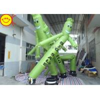 Wholesale 20ft Tall Air Dancer Inflatable Advertising Sky Man Ripstop Oxford Nylon Silk With Added Tarpaulin from china suppliers