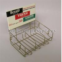 Wholesale Retail Store Custom Metal Display Racks Tinned Vintage Tobacco Display Rack from china suppliers