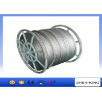 Wholesale 18 Strands Anti Twist Wire Rope / Galvanized Steel Wire Rope 252kN 20mm Diameter from china suppliers