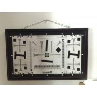 Wholesale iso 12233 2000 lines cctv camera test chart resolution test chart on paper and glass (chrome print) 200mm*356mm 16:9 from china suppliers