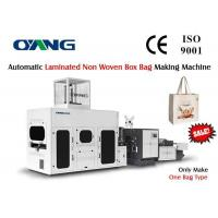 Wholesale Durable 380V Auto Non Woven Box Bag Making Machine 25-35pcs / min from china suppliers