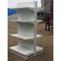 Wholesale Double Sided Four Tier Supermarket Display Stands / Retail Store Display Shelves from china suppliers