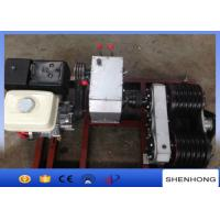 Wholesale 5Ton HONDA GX390 gas engine double capstan pulling winch in line construction from china suppliers