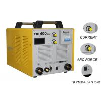 Wholesale 380V DC Three Phase Welding Machine / TIG400 Argon Welding Equipment 0.93PF from china suppliers