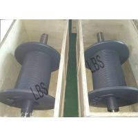 Wholesale LBS Manufacture Grooved drums with Cable/ Black Winch Reel from china suppliers
