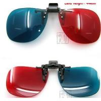 Wholesale 3D Clip Ons Dimensional 3 D Glasses DVD Movie Game (1053) from china suppliers