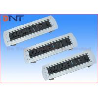 Wholesale 180 Degree Desktop Motorized Flip Up Rotating Power Strip For Conference Furniture from china suppliers