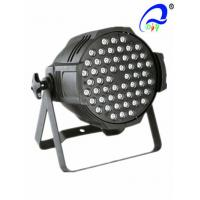 Buy cheap 54pcs*3W RGB Or RGBW High Brightness LED Par Light , Par Can LED Lights from wholesalers