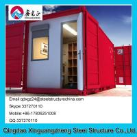 Wholesale Modular 20ft container flat pack house for show room from china suppliers