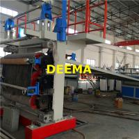 Buy cheap Plastic PVC Marble Sheet Machine Plastic Mat Making Machine 350-400Kg/h from wholesalers