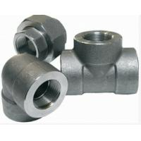 Quality A105 ASME B16.11 socket steel tee elbow for sale