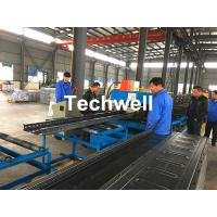 Wholesale CT-600 Ladder Type Perforated Cable Tray Roll Forming Machine, Cable Tray Production Line from china suppliers