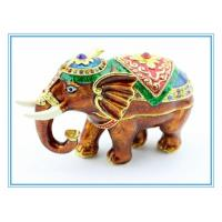 Wholesale Carton Elephant Shape Jewelry box for decoration from china suppliers