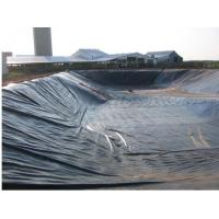 Buy cheap 7M width1-8 Meter black color 20mil HDPE fish pond liners/HDPE Impermeable Geomembrane by sincere factory from wholesalers