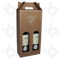 Wholesale Personalized thick paper protective wine box from china suppliers