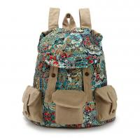 Wholesale New Retro Vintage Canvas Bags Camping Travel Casual Backpack Satchel School Bags from china suppliers