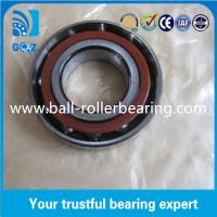 Wholesale High Rigidity Small Angular Contact Bearings , ZZ 2RS Open Ball Bearings from china suppliers