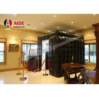 Buy cheap Trade Show Equipment Inflatable LED Photo Booth Rental For Advertising from wholesalers